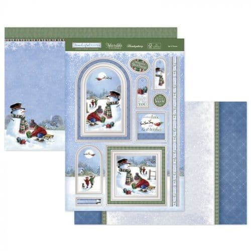 Let it Snow Luxury Topper Set